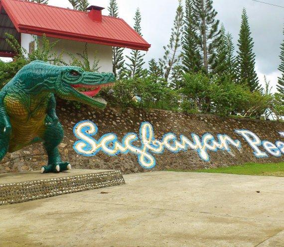 Der Sagbayan Gipfel