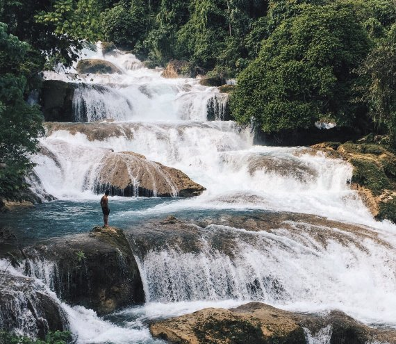 Aliwagwag Wasserfall