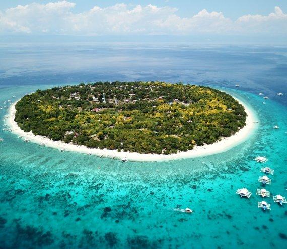 Die Balicasag Insel