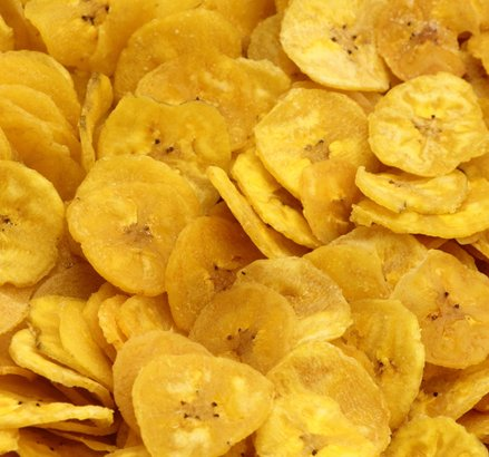 "Banana chips from ""Saba"""