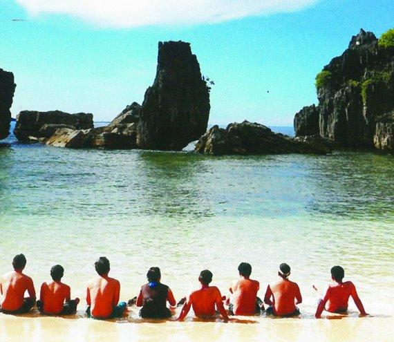 Die Cagliog Insel