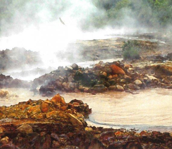 Inang Maharang Hot Spring