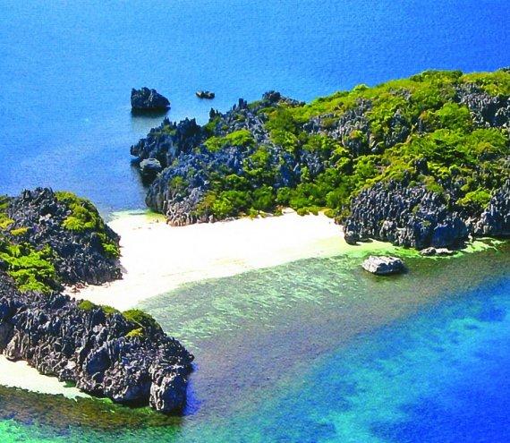 Die Lahos Insel