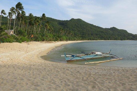 Der Binucot Strand