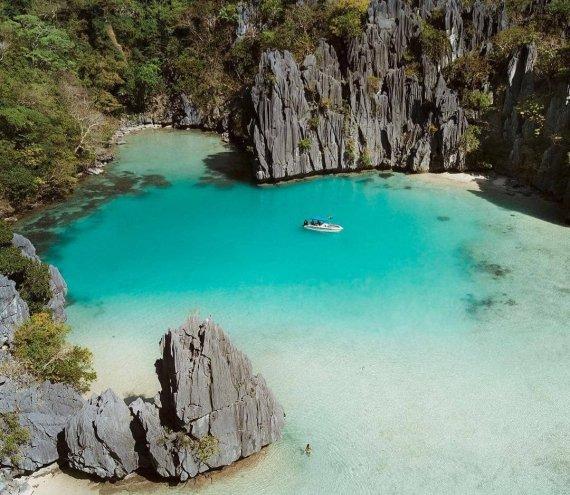 Die Cadlao Lagune