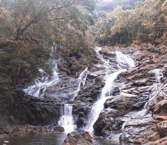Der Cataja Wasserfall