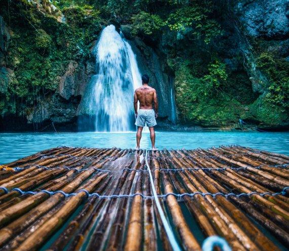 Der Kawasan Wasserfall