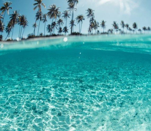 Der Kristall Strand