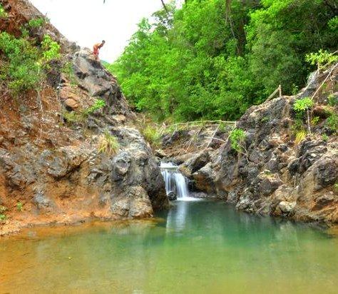 Der Wasserfall Dagubdub