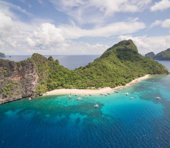 Die Hubschrauber Insel