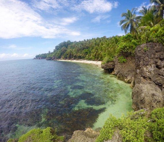 Die Limasawa Insel