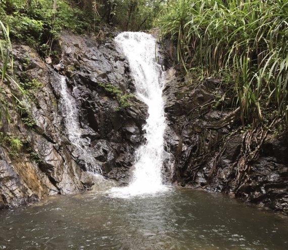 Der Nagkalit-kalit Wasserfall