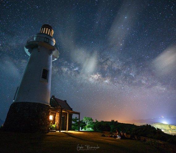 Der Naidi Leuchtturm