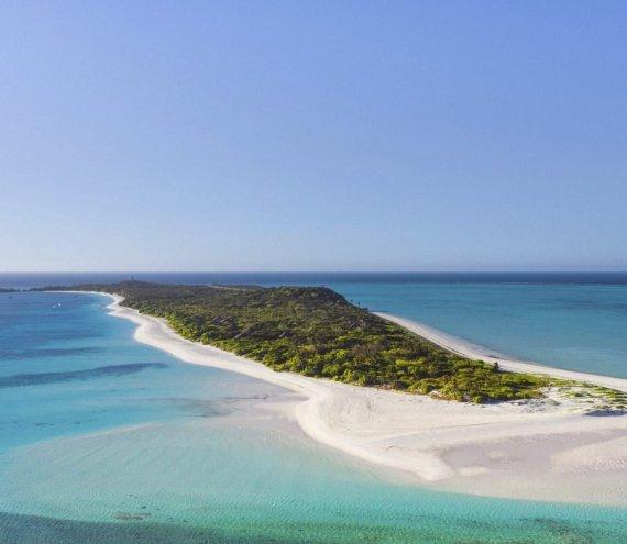 Die Pamalican Insel