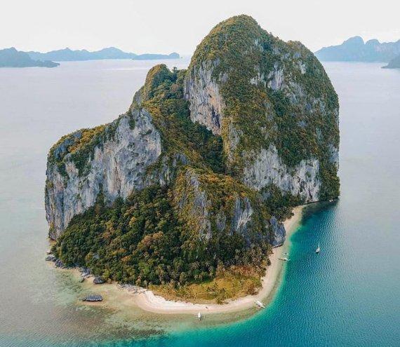 Die Pinagbuyutan Insel