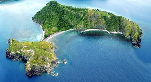 Die Pitogo Insel