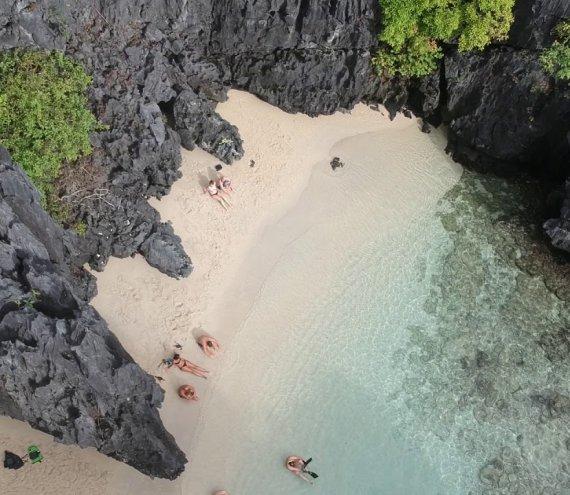 Der geheime Strand
