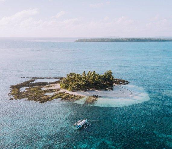 Die Guyam Insel