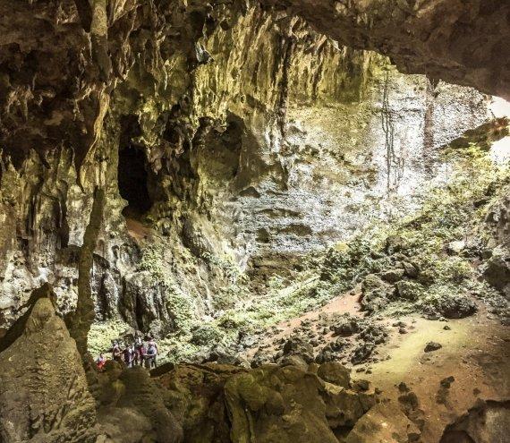 Das Tabon Höhlensystem