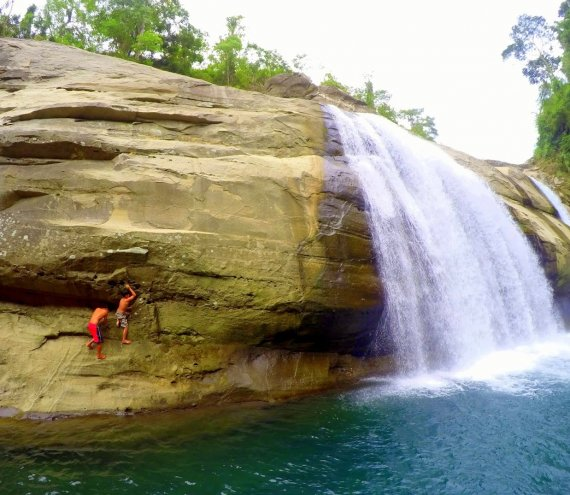 Tangadan Wasserfall