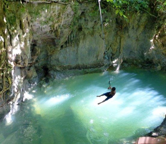 Tayangban Cave Pool