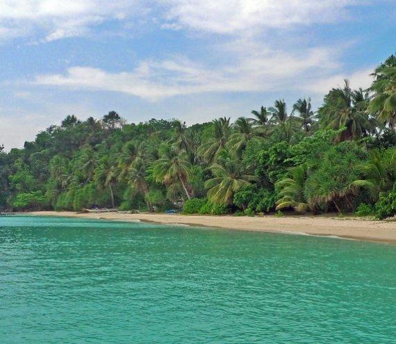 Der Strand Tiamban
