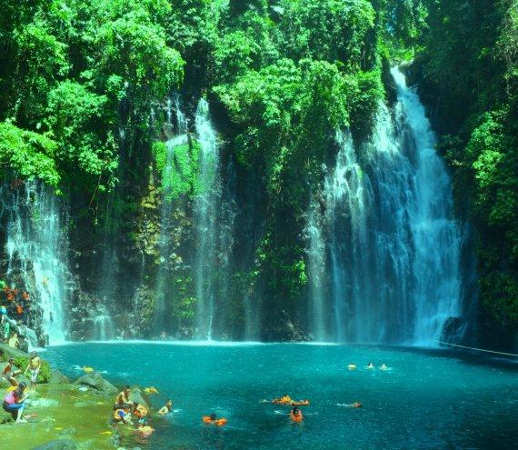 Tinago Wasserfall