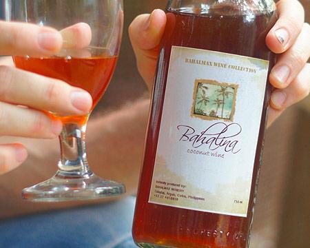 Der Bahalina Wein (Kokosnusswein)
